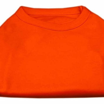 Plain Shirts Orange Sm (10)