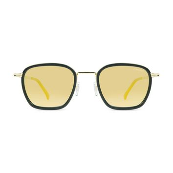 Komono - Boris Black Gold Sunglasses / Polarized Revo Lenses