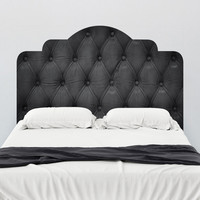 Walls Need Love Faux Tufted Adhesive Headboard Wall Mural