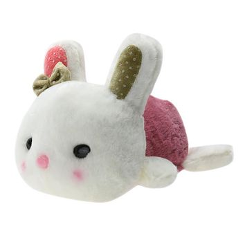 20cm Lovely Little Bunny Stuffed Plush Toy Cute Rabbit Baby Sleeping Doll Toy Promotional Bunny Doll Rabbit Plush Toy for Kids