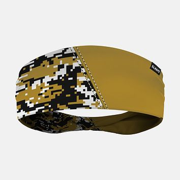 Arsenal Digi Camo Gold Black Headband
