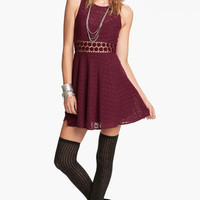 Free People Crochet Daisy Dress | Nordstrom
