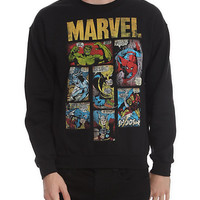 Marvel Comics Crewneck Sweatshirt