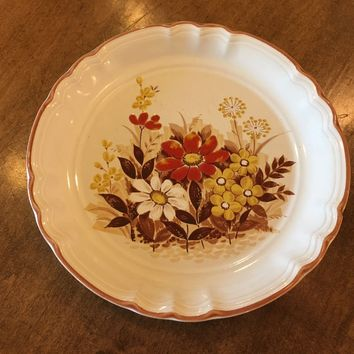 Vintage Country Life Styled Mikasa KE101 Autumn Dinner Replacement Salad Plate