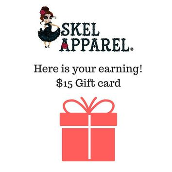 Skelapparel Gift Card - Affiliate Program
