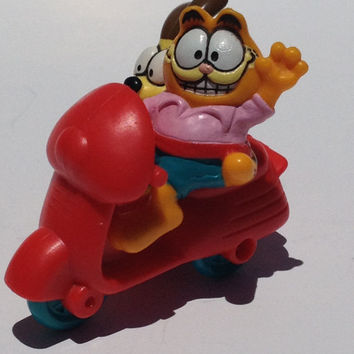 Vintage Garfield and Odie Toy 1981