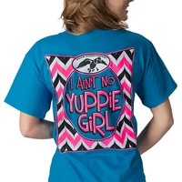 Duck Commander® Women's Blue I Ain't No Yuppie Girl Short Sleeve Tee
