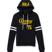 Army Funnel-Neck Hoodie