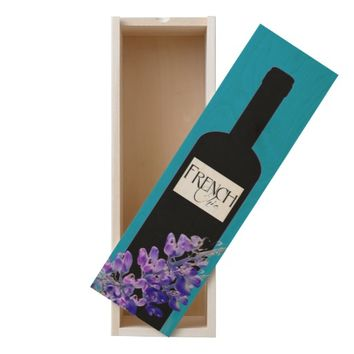 FRENCH CHIC WOODEN WINE BOX