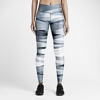 Nike Legend 2.0 Ribbon Running Tights Dri-FIT Compression NWT 651332-010