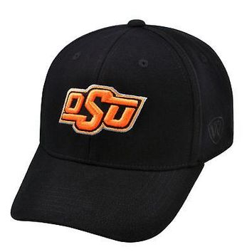 Licensed Oklahoma State Cowboys Official NCAA One Fit Wool Hat Cap by TOW 266831 KO_19_1