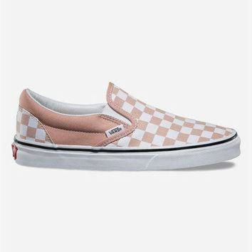 DCCKIJG VANS Checkerboard Slip-On Womens Shoes | Sneakers