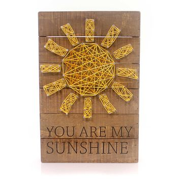 Home & Garden You Are My Sunshine Sign / Plaque