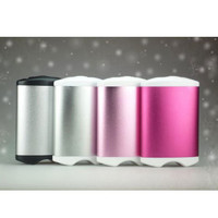 EnergyFlux Rechargeable Double-Sided Hand Warmer / USB External Battery Pack 4400mAh | deviazon.com