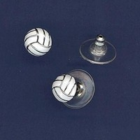Volleyball Jewelry - Volleyball Earrings