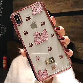 Perfect Swarovski Phone Cover Case For iphone 6 6s 6plus 6s-plus 7 7plus 8 8plus iPhone X XS XS max XR