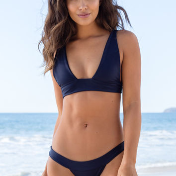 Mary Grace Swim - Banned Top | Darkness