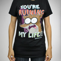 Regular Show 'Ruination' Junior Fitted Tee