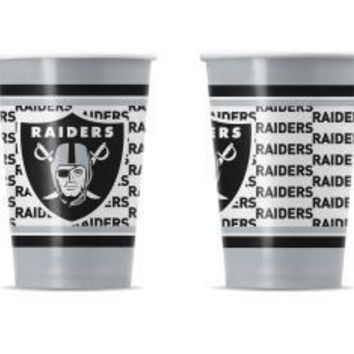 RAIDERS DISPOSABLE PAPER CUPS - 20 PK 16oz
