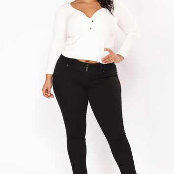 Top Five Booty Lifting Jeans - Black