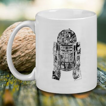 Epic r2d2 Mug, Tea Mug, Coffee Mug