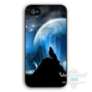 The Twilight Moive Wolf and Moon mobile phone cover case for iPhone 4S 5S 5C 6S 6S Plus 7 7Plus Samsung Galaxy S4 S5 S6 S7 edge