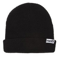 Neff Fold Beanie - Womens Hat - Black - One