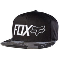 Fox Racing Mens Hazzard Snapback Adjustable Hat One Size Graphite