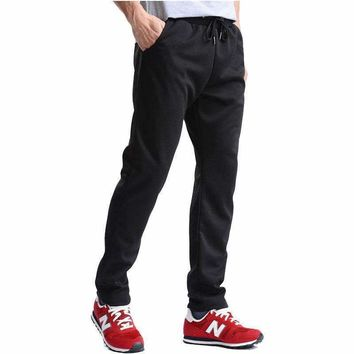 FALIZA 2018 New Brand Joggers Male Trousers Men Pants Elastic Waist Sweatpants Men's Casual Pants For Spring and Autumn CK-L