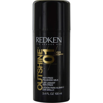 REDKEN by Redken OUTSHINE 01 ANTI-FRIZZ POLISHING MILK 3.4 OZ (PACKAGING MAY VARY)