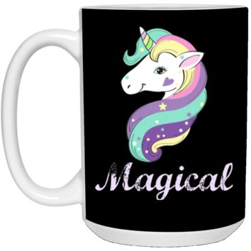 Magical Unicorn 21504 15 oz. White Mug