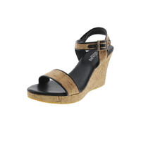 Cordani Calzature Womens Leather Open-Toe Wedges