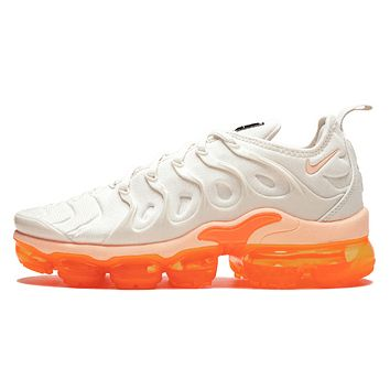 Nike Air Vapormax Plus Fashion New Air Cushion Sport Running Couple Shoes Leisure Sneakers White