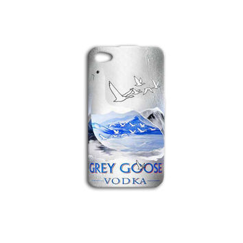 Grey Goose Vodka Bottle Custom Case for iPhone 5/5s and iPhone 4/4s