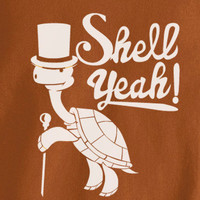 Elegant Turtle Tortoise wearing Top Hat and Cane Shell Yeah living Large T-Shirt