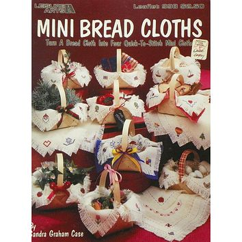 Mini Bread Cloths - Counted Cross Stitch Leaflet - Leisure Arts
