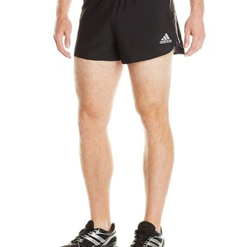 adidas Performance Men's Sequencials Split Shorts, Black, X-Large