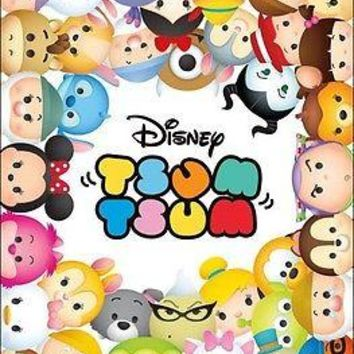 "Disney Tsum Tsum Mickey Mouse Wall Poster Picture Art Print 22""x34"" LICENSED NEW"