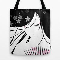 Asian Obsession Tote Bag by DesignDinamique