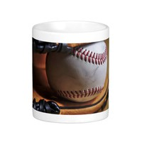 Mug: Baseball Season Classic White Coffee Mug