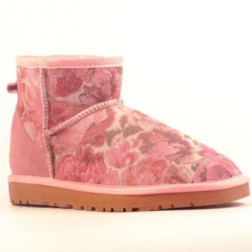 UGG> snow boots leather boots, female + male-3