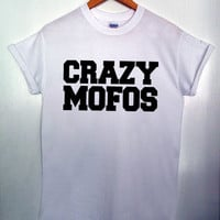 Crazy Mofos Niall Horan Inspired One Direction Hipster Swag Dope Mens T-shirt...