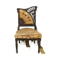 Pre-owned Victorian Asymmetrical Drake Chair