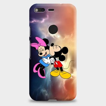 Mickey Mouse And Minnie Mouse Cute Couple Cartoon Google Pixel XL Case