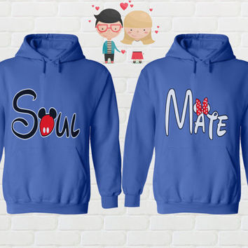 Soul Mate Matching Clothes for Couples Bride and Groom Gift Couple Gift Set Mr Mrs Shirts Couple T-shirt Cute Couple Clothing Wainaola