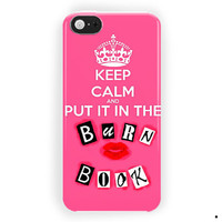 Mean Girls Burn Book For iPhone 5 / 5S / 5C Case