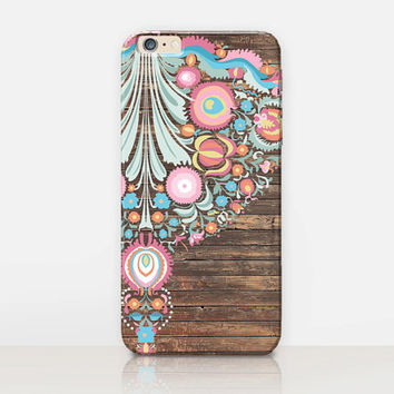 Bohemian Folk Phone Case- iPhone 6 Case - iPhone 5 Case - iPhone 4 Case - Samsung S4 Case - iPhone 5C - Tough Case - Matte Case - Samsung