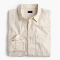 Heathered slub cotton shirt : Men Classic Fit Shirts | J.Crew