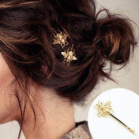 2 pcs Fashion jewelry accessoriescute Bee hair wear hair pin gift for women girl New horquillas de pelo