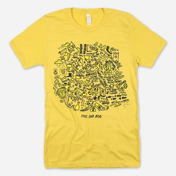 This Old Dog Yellow T-Shirt